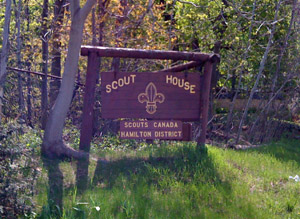 ScoutHouse-sign